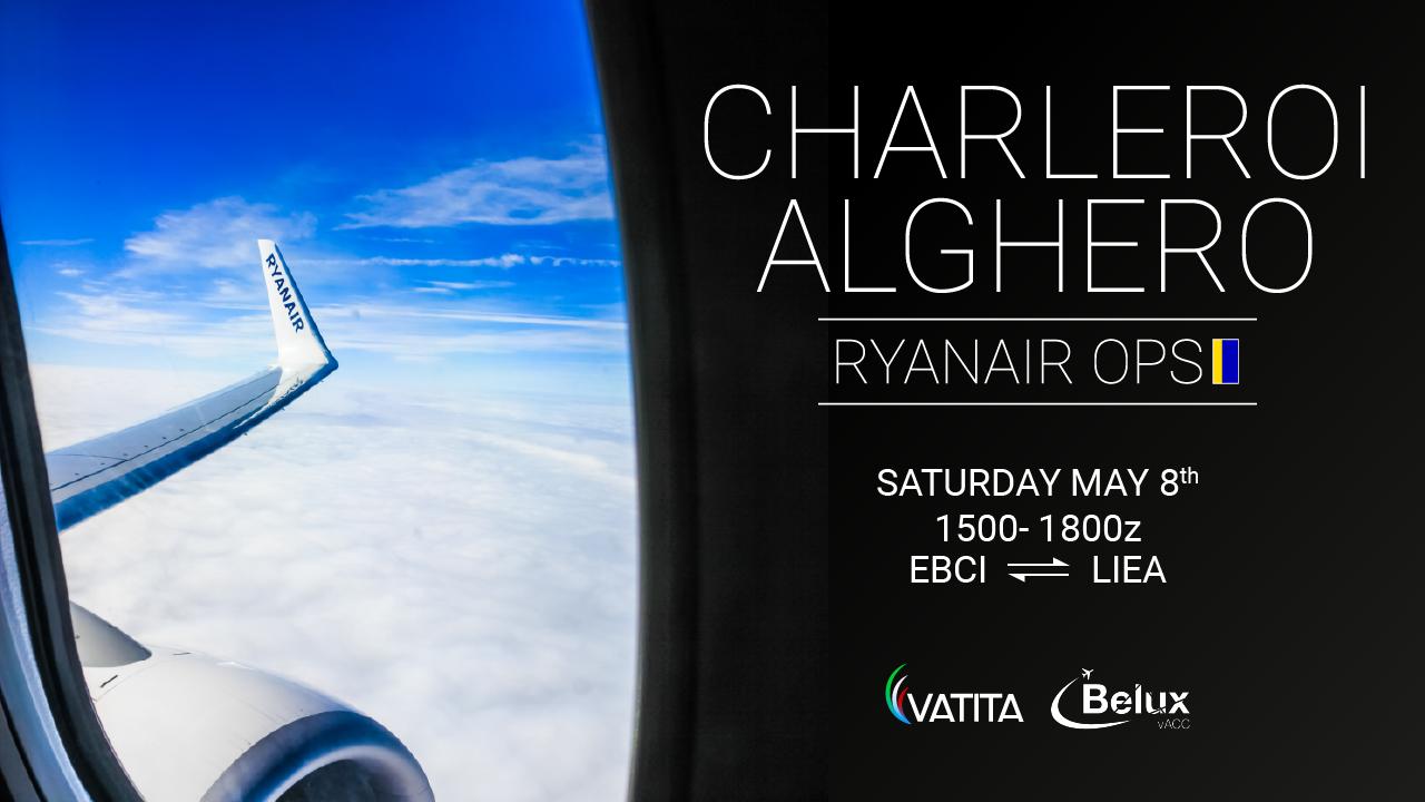 Charleroi Alghero Ryanair OPS - Virtual Norwegian Events