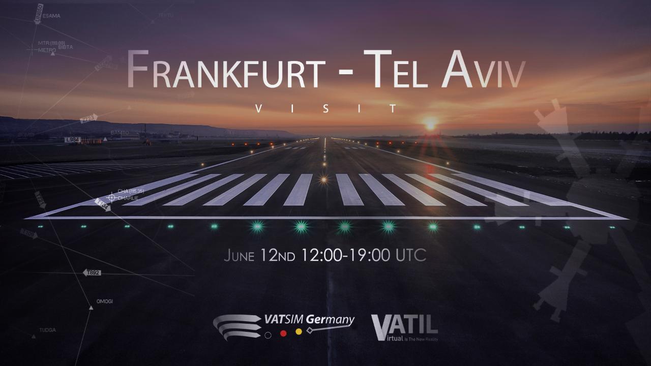 Frankfurt - Tel Aviv Visit - Virtual Norwegian Events