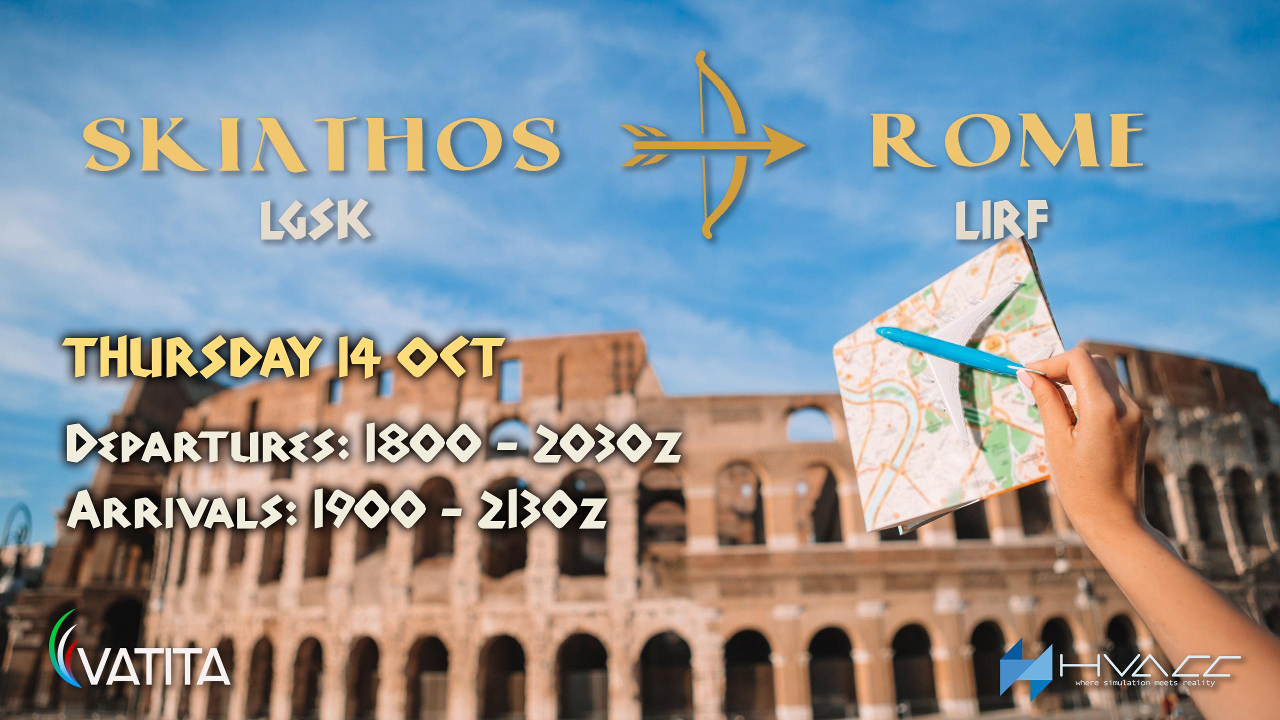 Skiathos Rome CityLink - Virtual Norwegian Events