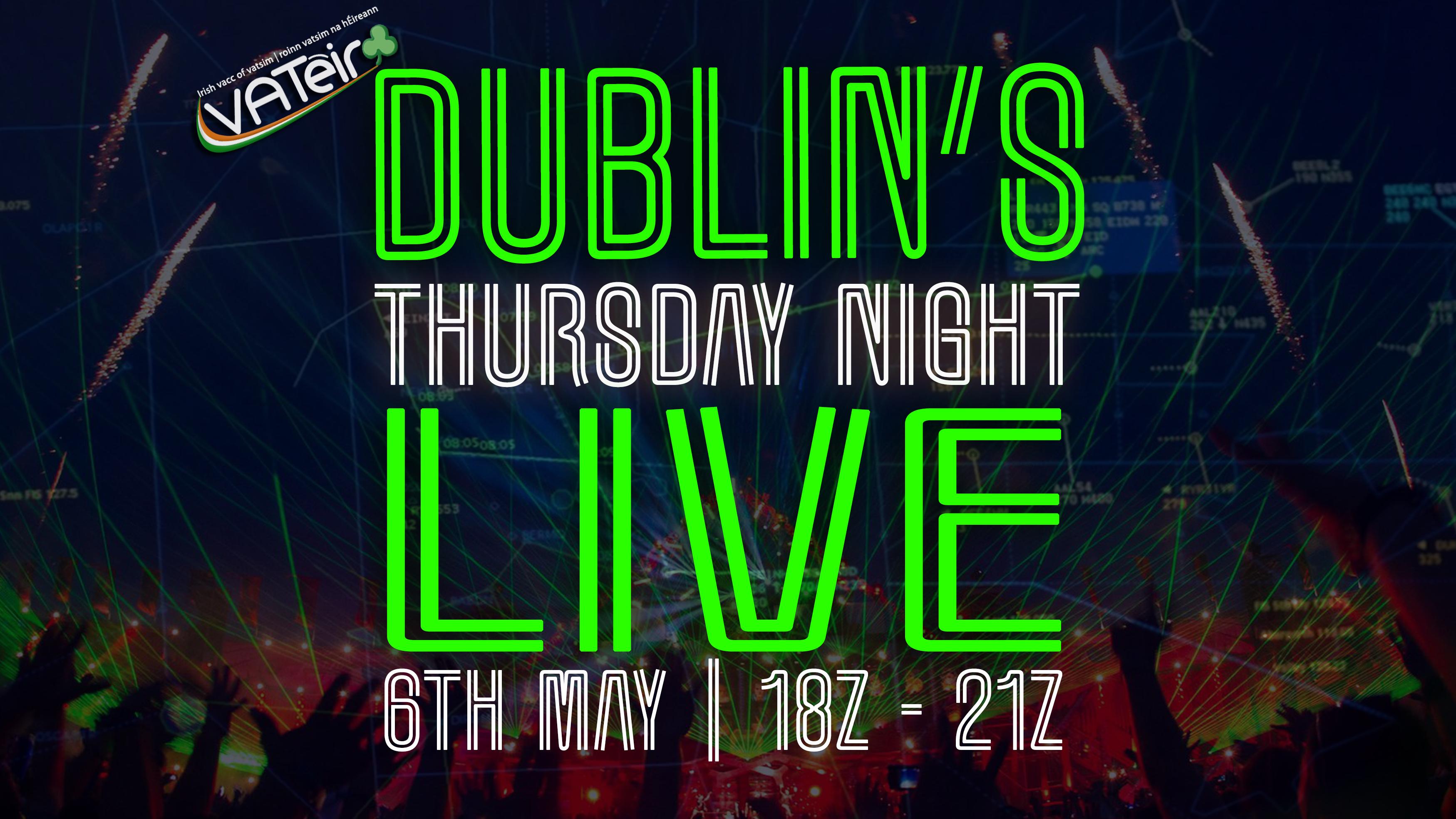 Dublins Thursday Night Live - Virtual Norwegian Events