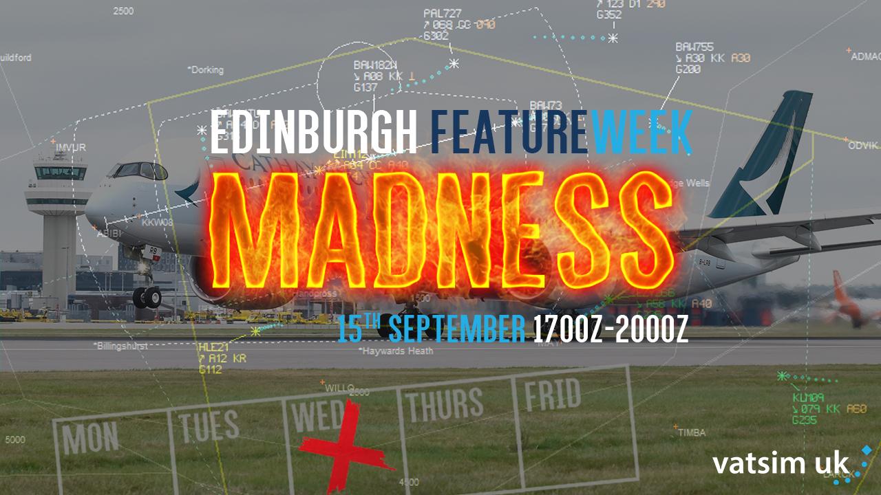 Edinburgh Midweek Madness - Virtual Norwegian Events