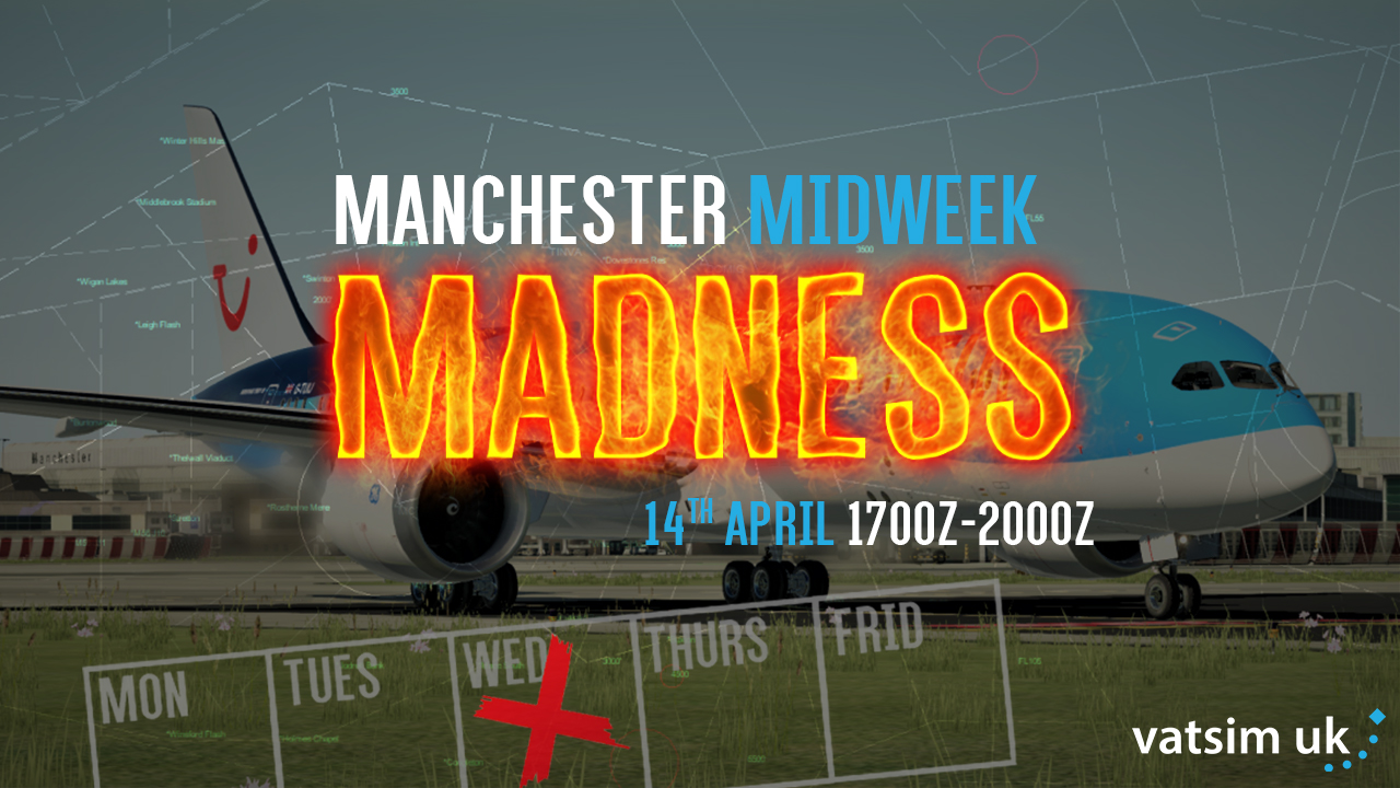 Manchester Midweek Madness - Virtual Norwegian Events