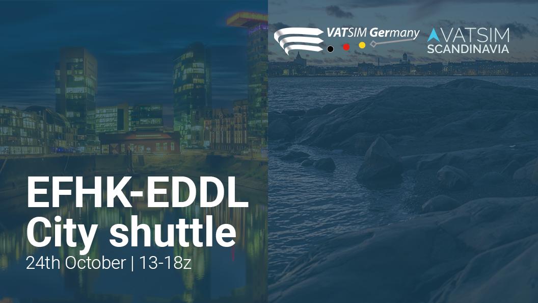 Dusseldorf-Helsinki City Shuttle - Virtual Norwegian Events