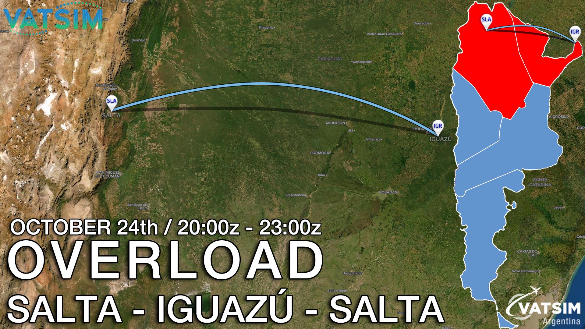 OVERLOAD SALTA/IGUAZU