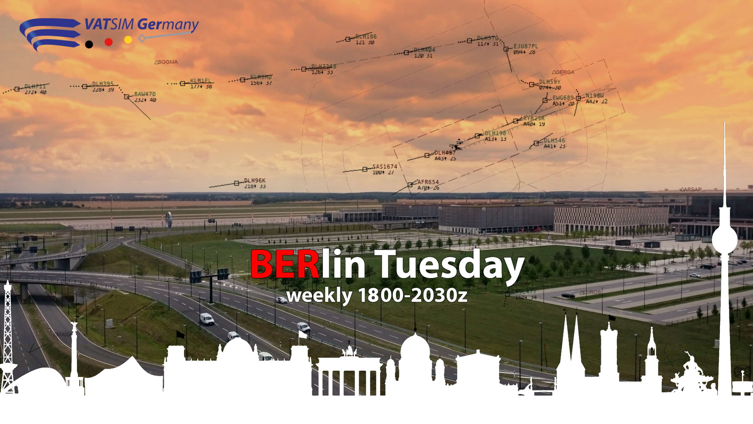BERlin Tuesday - EDDB - Virtual Norwegian Events
