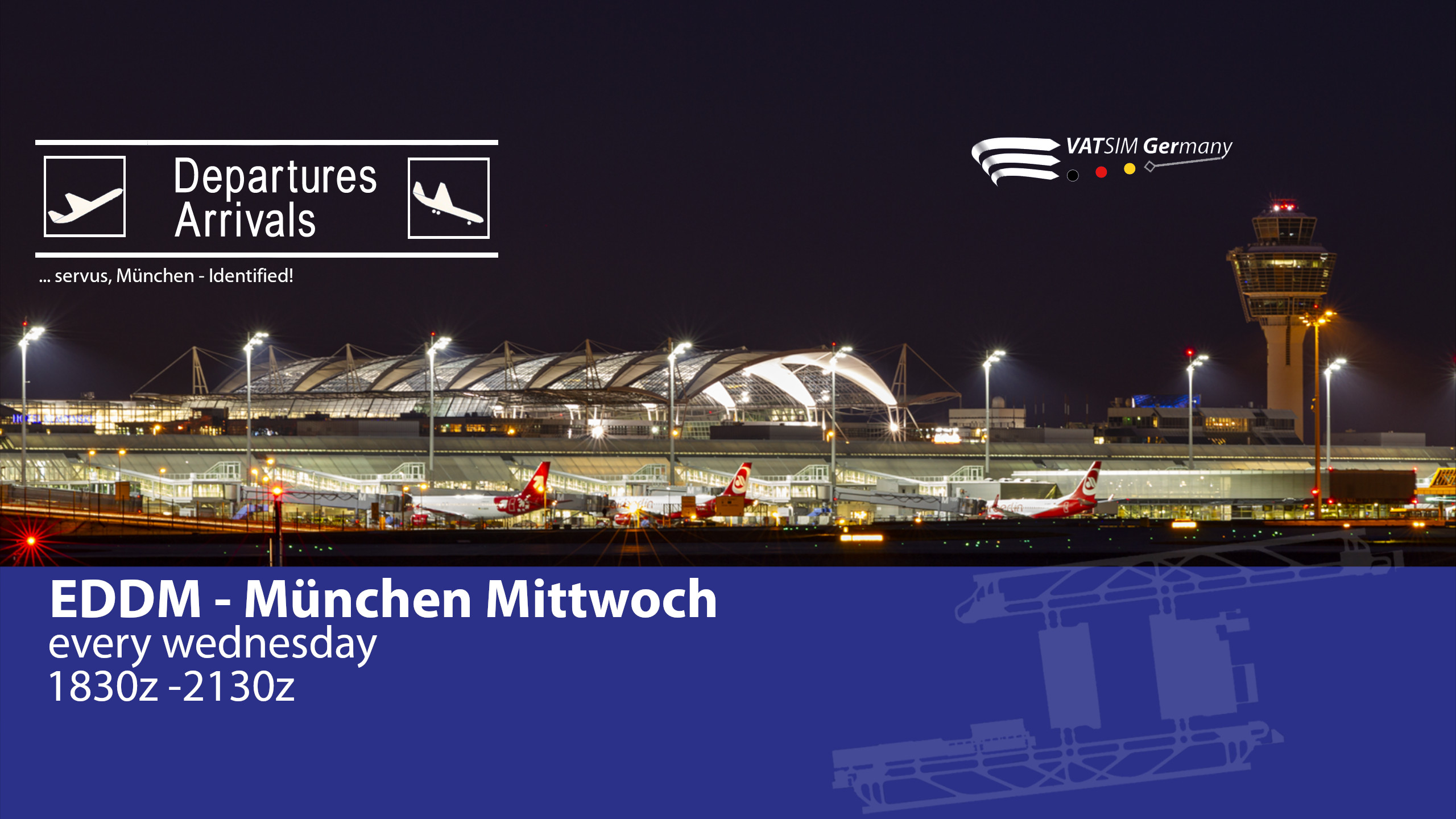 EDDM - München Mittwoch - Virtual Norwegian Events