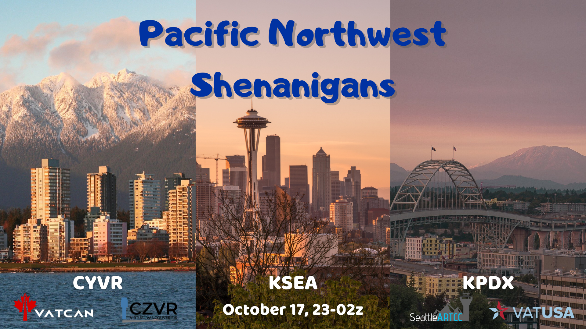Pacific Northwest Shenanigans - Virtual Norwegian Events