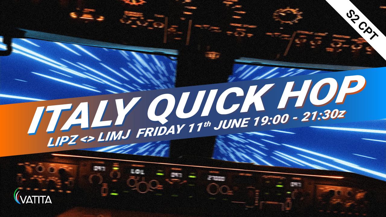 Italy quick hop - Virtual Norwegian Events