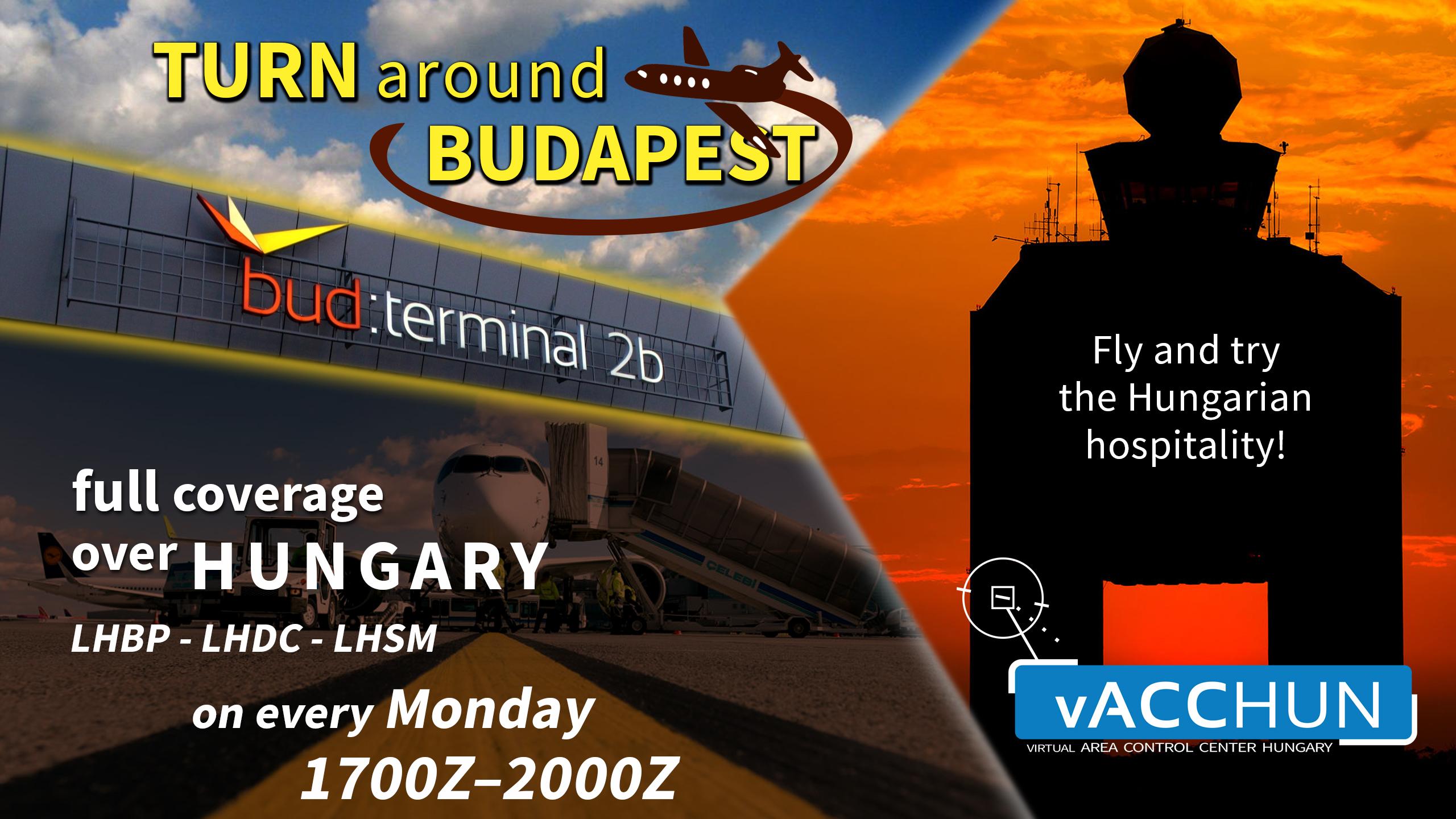 Turn around Budapest - Virtual Norwegian Events