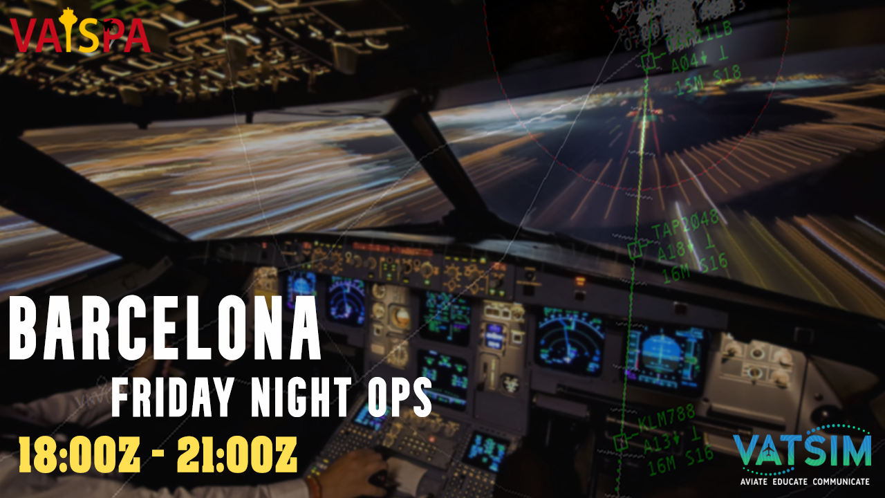 Barcelona Friday Night Ops - Virtual Norwegian Events