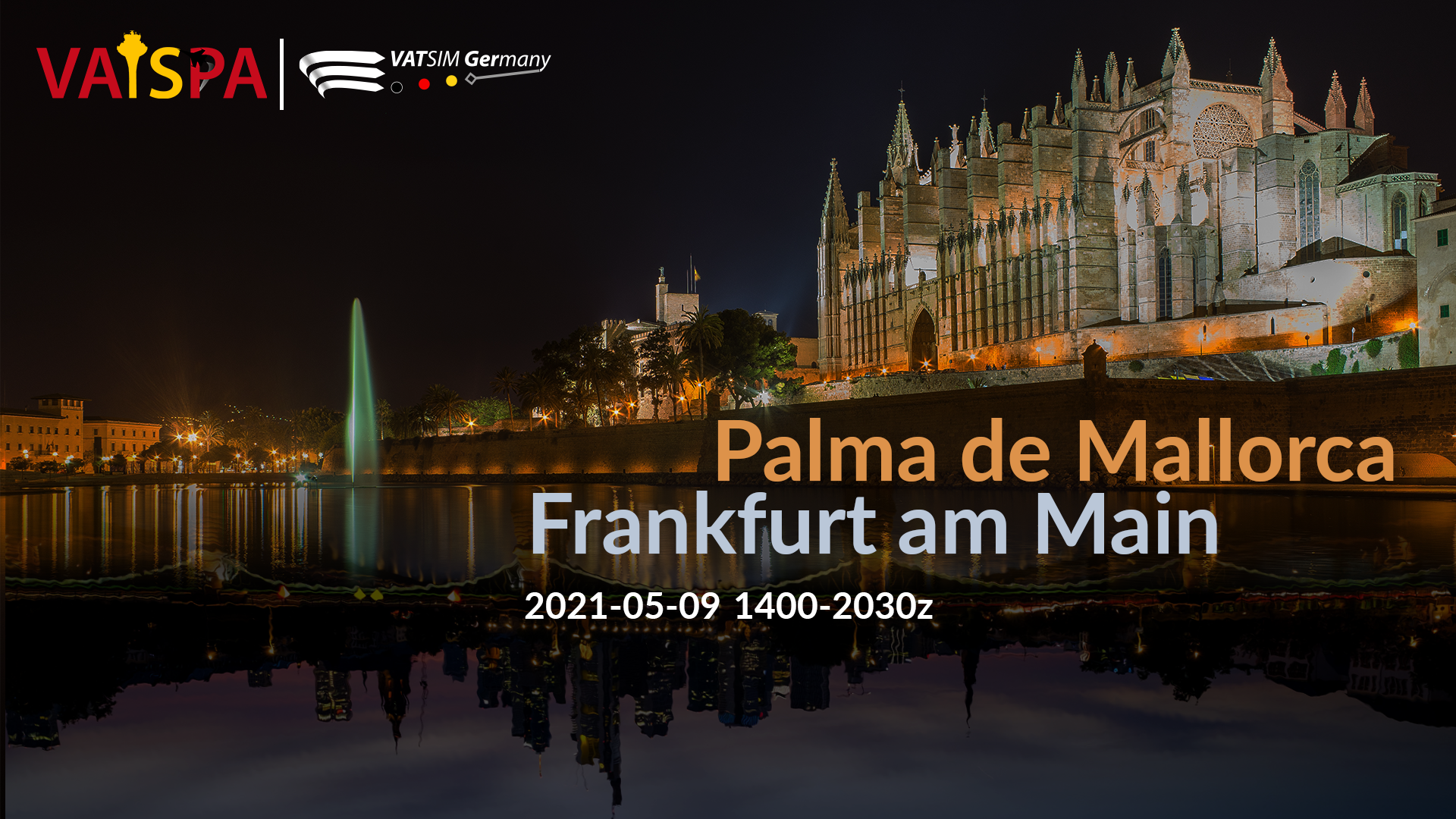 Let's start the summer: Palma to Frankfurt - Virtual Norwegian Events