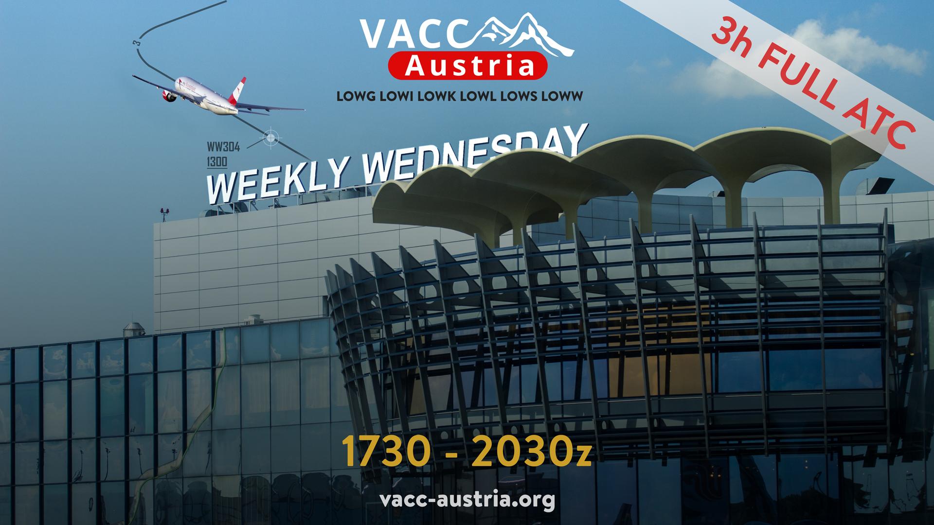 VACC-Austria Weekly Wednesday - Virtual Norwegian Events