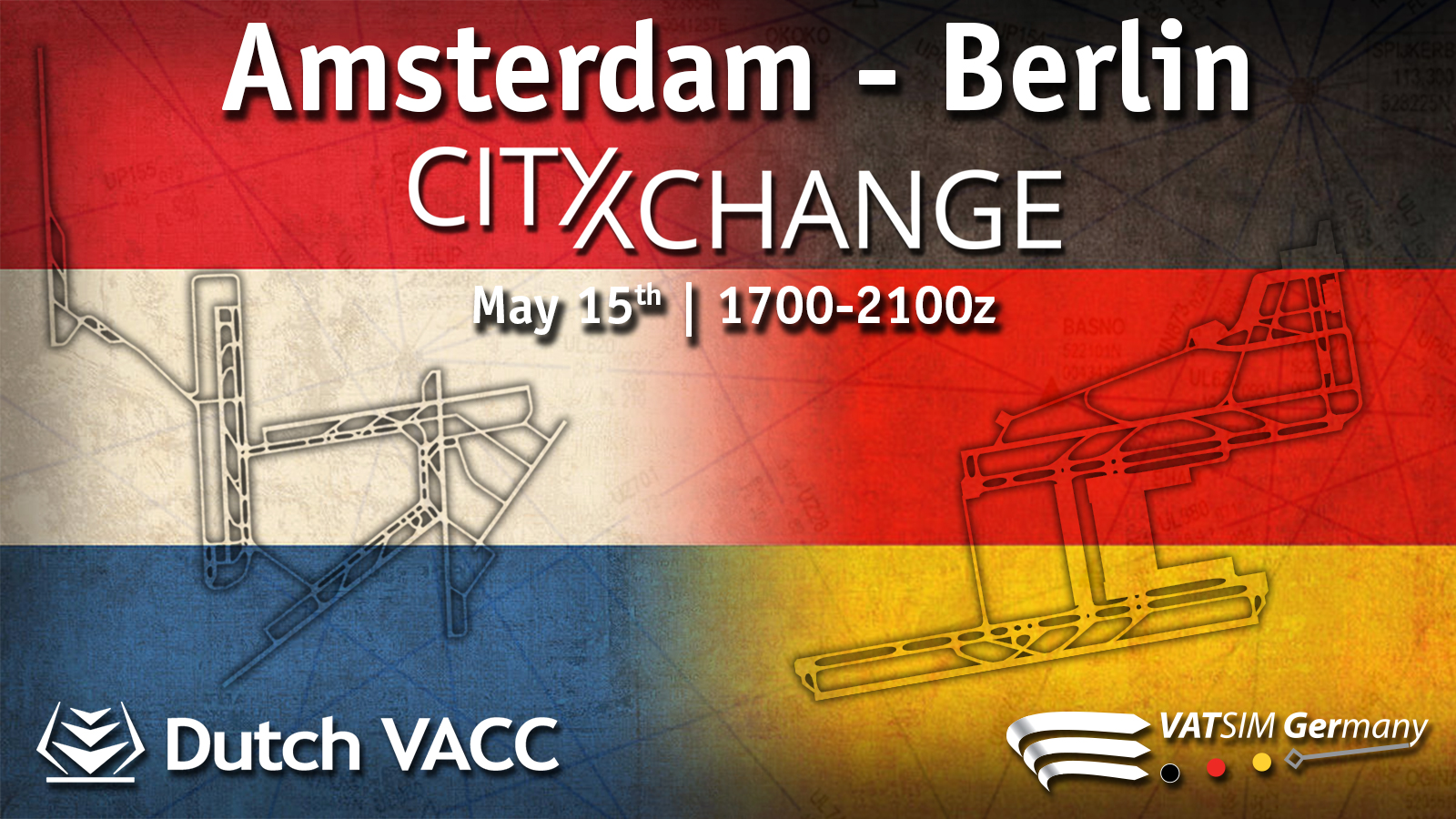 Amsterdam - Berlin CityXchange - Virtual Norwegian Events