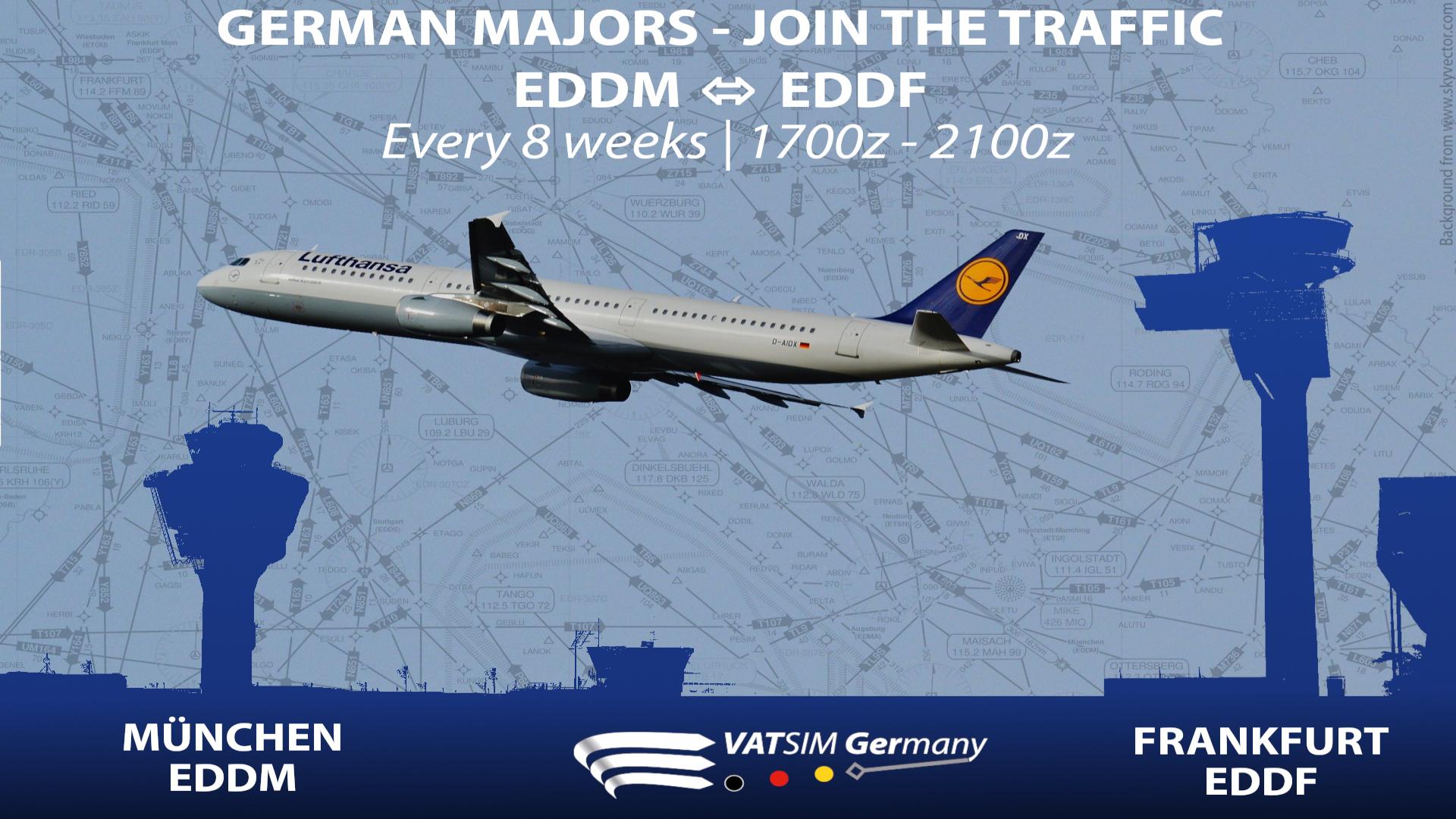 Join the traffic / EDDM<>EDDF - Virtual Norwegian Events