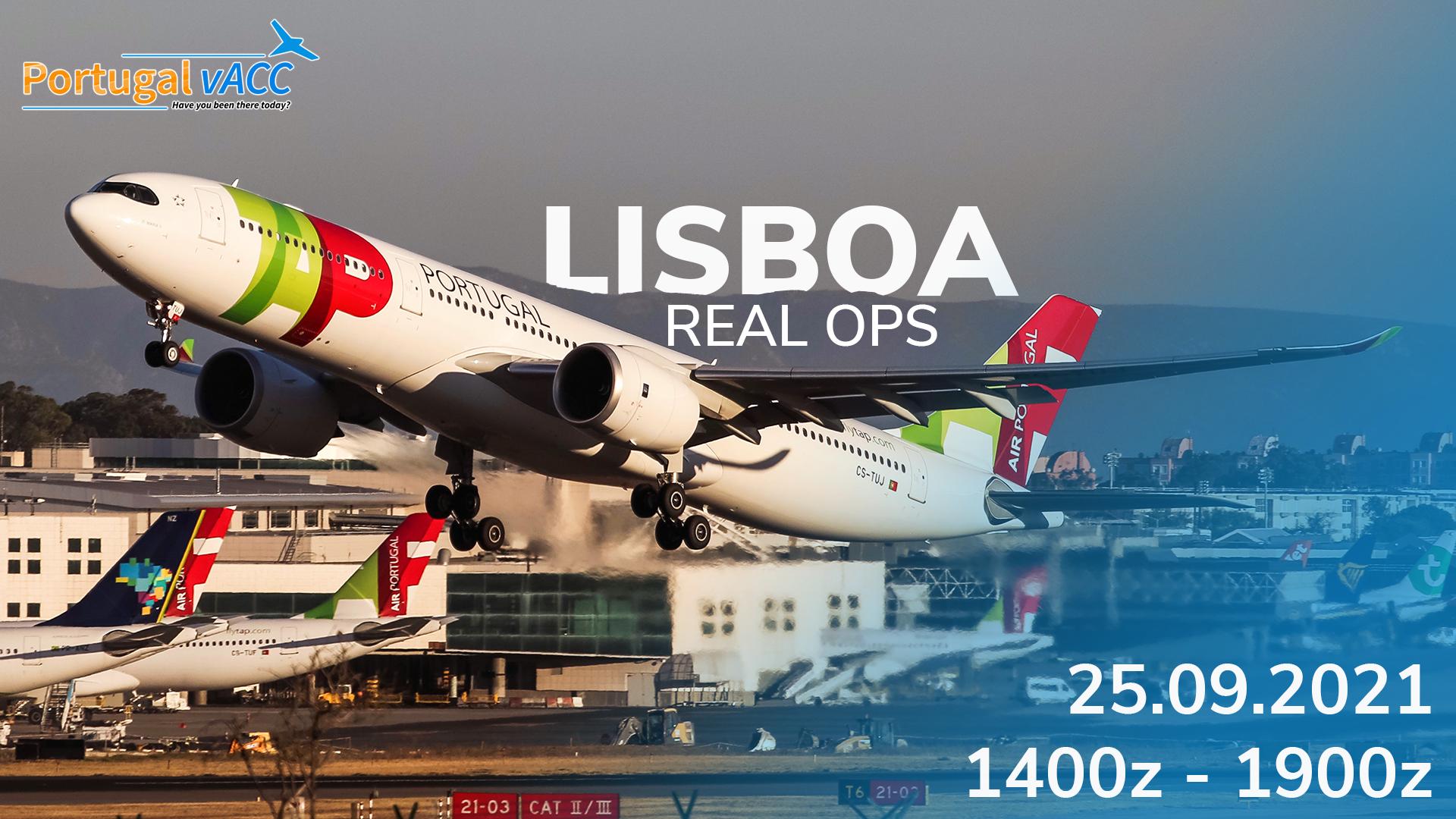 LPPT - Lisboa Real Ops 2021 - Virtual Norwegian Events