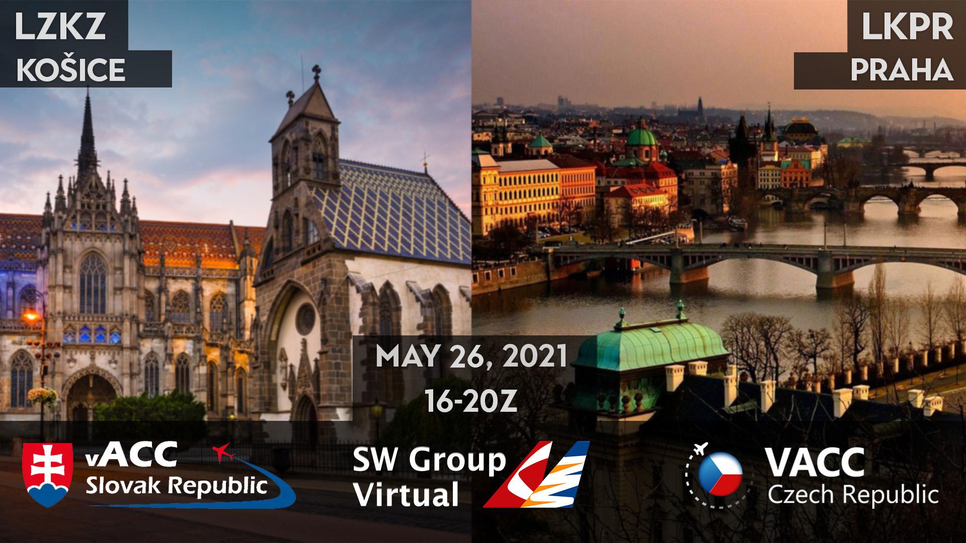 Prague - Košice  Shuttle - Virtual Norwegian Events